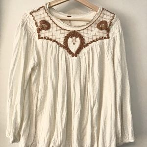 Free People Jersey Knit top